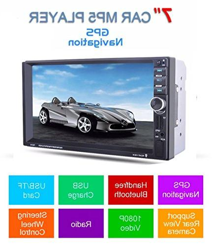 Fosa Audio 7021G Double Din, Touchscreen, Bluetooth, Navigation,Digital
