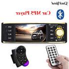 Car Radio Audio Stereo Usb Aux Fm Radio Station Bluetooth MP