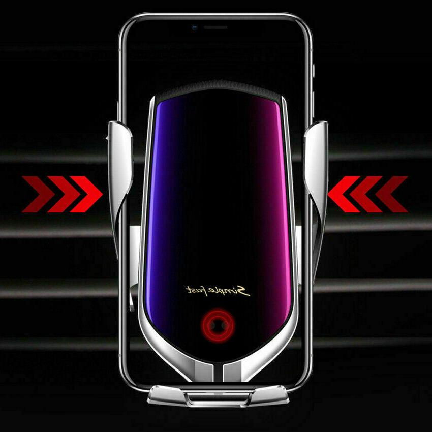 Automatic Clamping Wireless Charger Air Cell