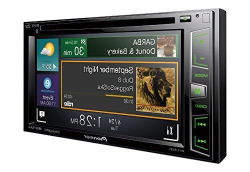 "Pioneer AVH-X2800BS Receiver 6.2"" Bluetooth,"