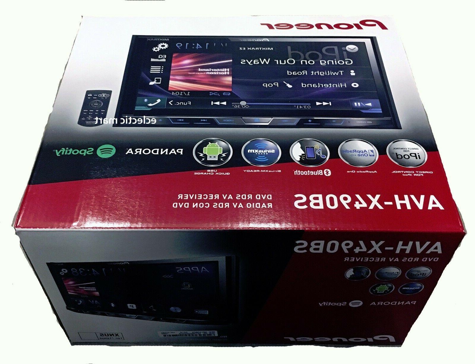 Pioneer AVH-X490BS DVD Rcvr & AVIC-U280 GPS Navigation Combo