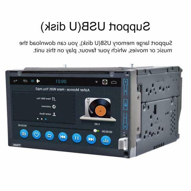 Best Radio 5.1 Din With Free Rear Camera DVD