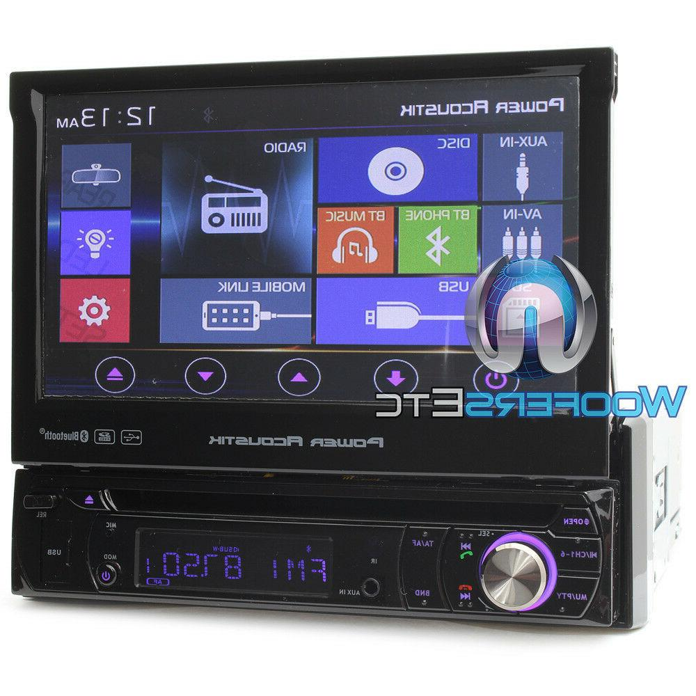 BLUETOOTH TV SCREEN DVD SD IPOD AUX CAR NEW