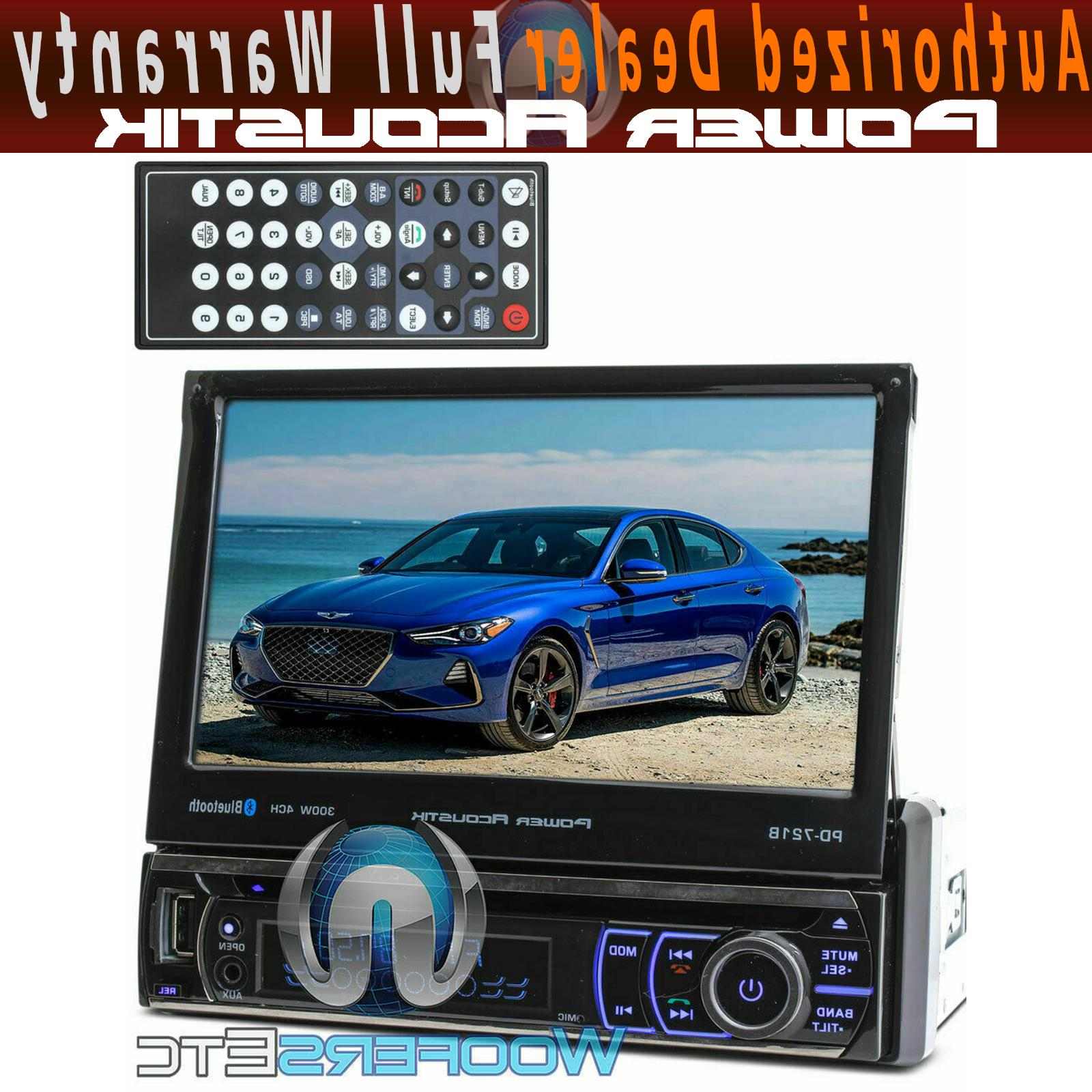 bluetooth 7 tv touch screen dvd mp3