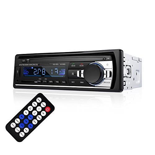 Bluetooth Car Receiver - LESHP Car Stereo Audio DIN In Dash 12V FM Radio