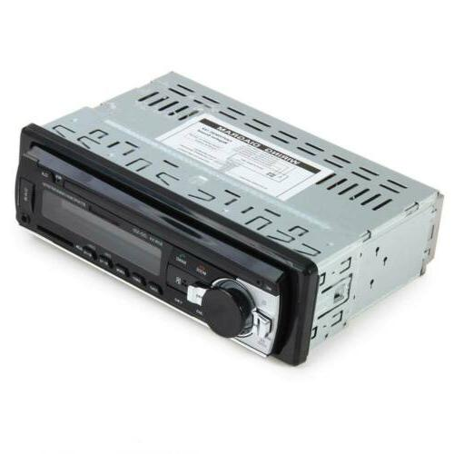 Bluetooth Car AUX Receiver USB MP3 In-Dash Unit