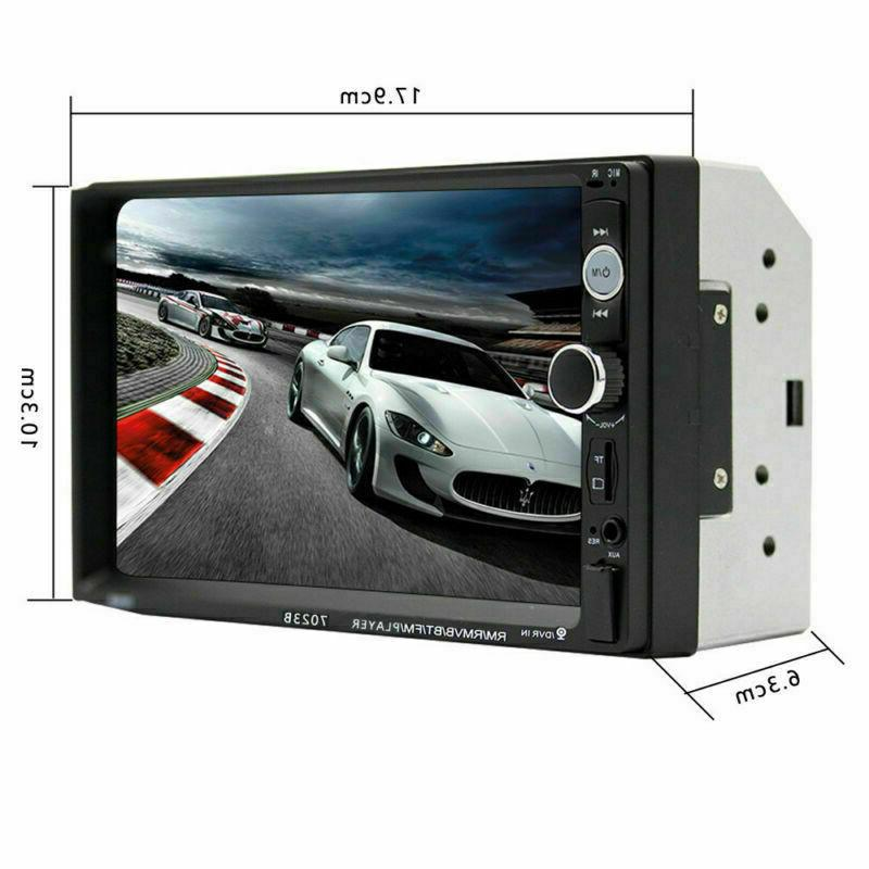 "Bluetooth Car 2 7"" HD MP5 Screen Remote"