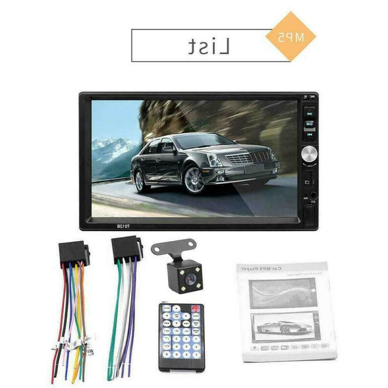 Bluetooth Car Radio 2DIN MP5/MP4 Player Camera