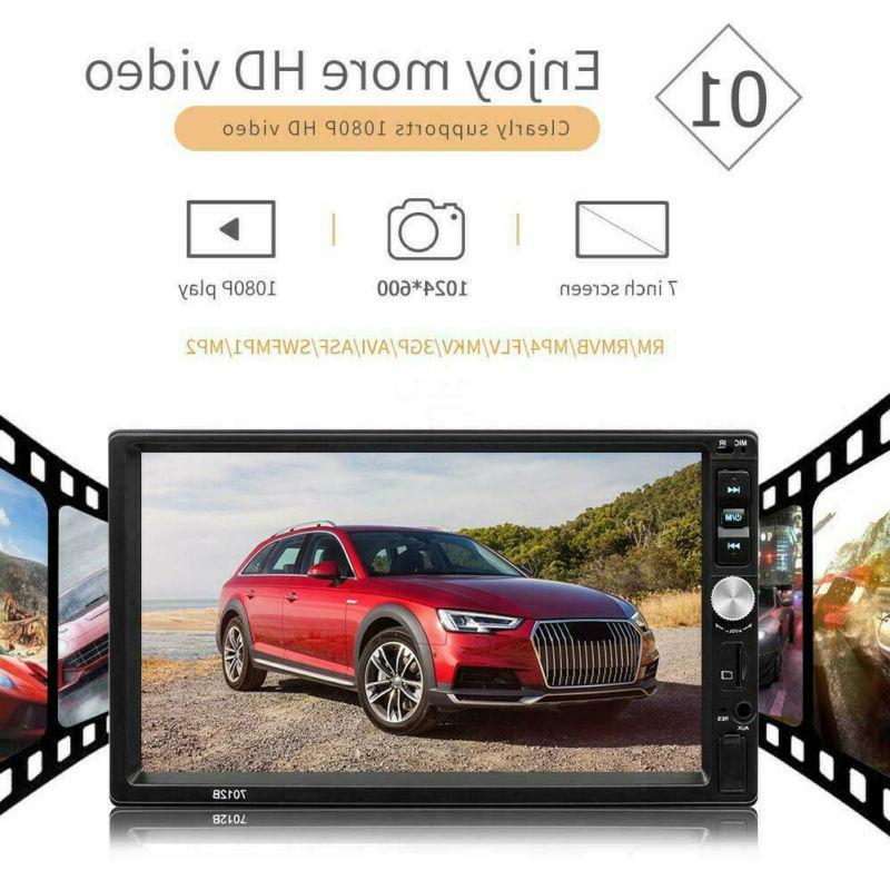 Bluetooth 2DIN 7inch HD MP5/MP4 Player