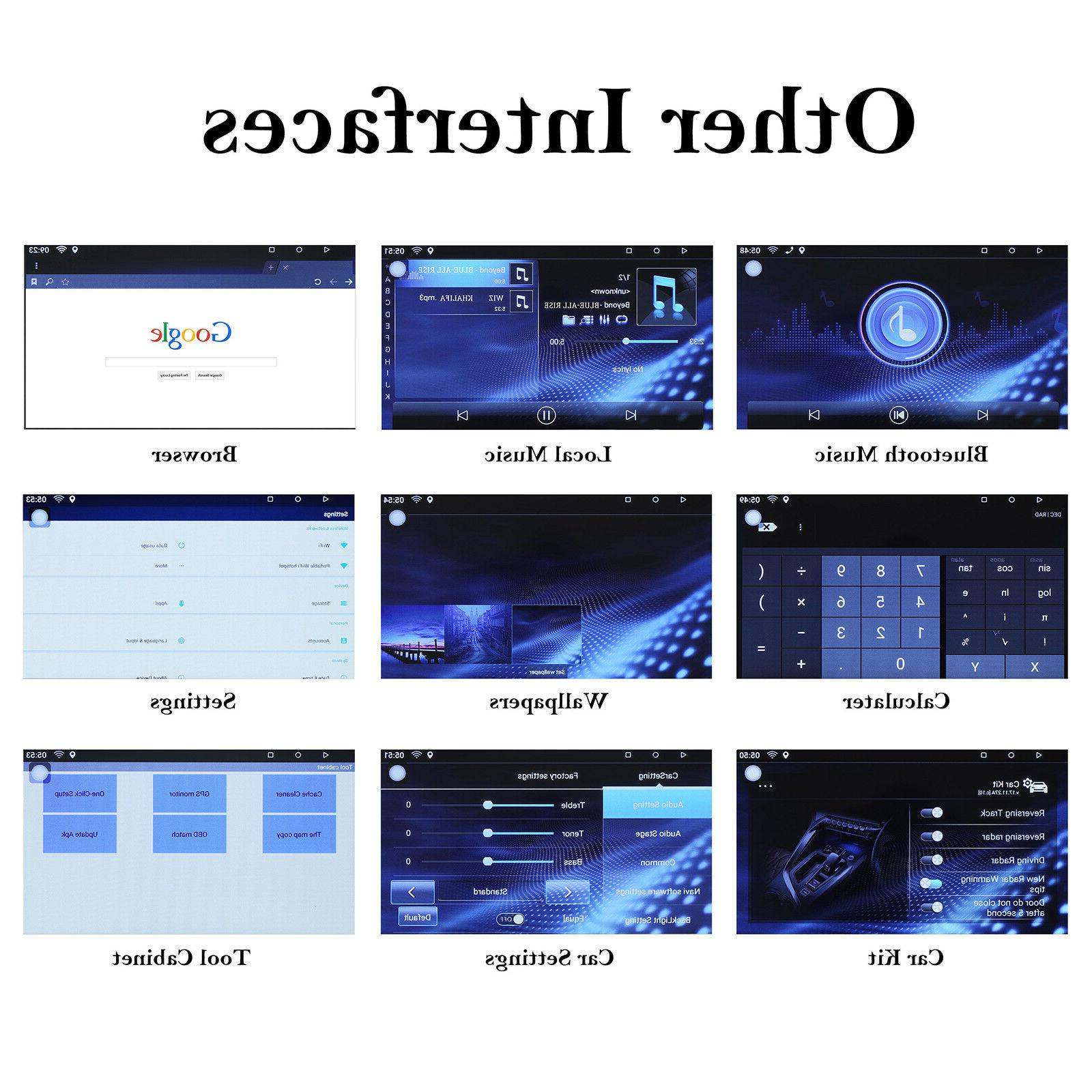 """Bluetooth Stereo Android 7"""" MP5 GPS Wifi"""