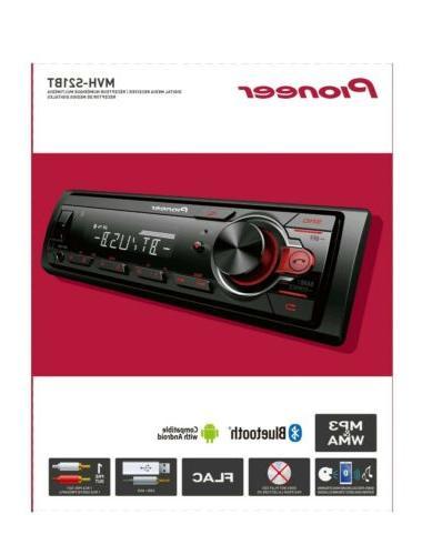 Pioneer Bluetooth Car Receiver System Radio