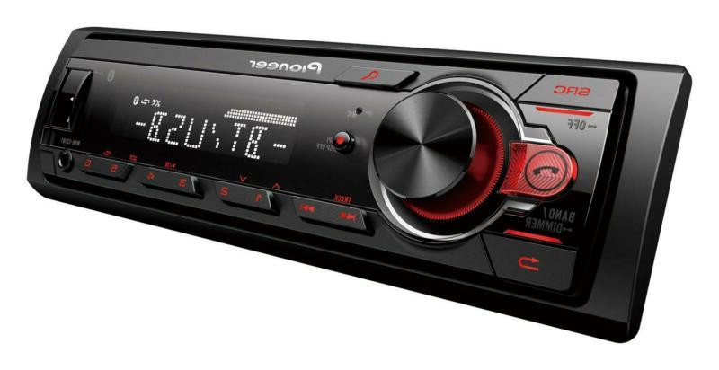 Bluetooth Car Stereo Audio Receiver In Dash System With AM/F