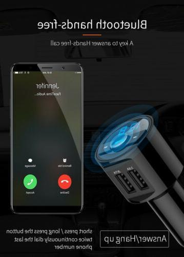 Bluetooth Charger FM Radio MP3