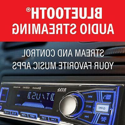 Boss 611UAB Single Din USB/SD AUX Radio Car