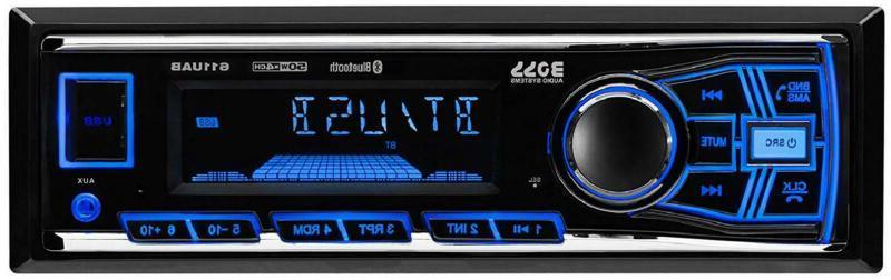 Boss Din AUX Car Receiver Audio Bluetooth NEW