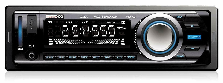 FM MP3 Car Stereo Receiver USB Port Card