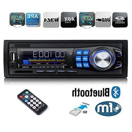 FM and MP3 Car Stereo with USB Port and SD Card