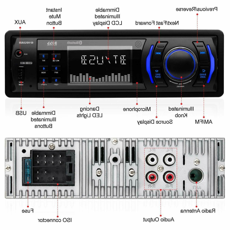 BOSS Audio Aux-in, No Radio