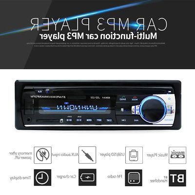 BT Car Audio MP3 Player with