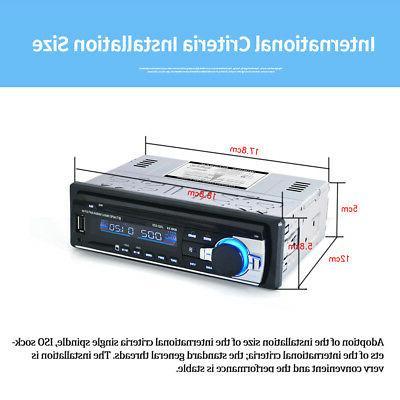 BT Car Stereo Radio Audio Player Receiver MP3 Port