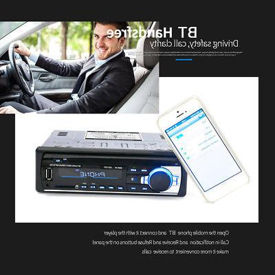 bt car stereo radio audio player receiver