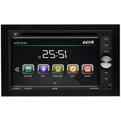 bv9351b double din touchscreen dvd