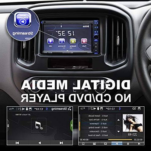 BOSS BV9370B Car Stereo Bluetooth and Hands Free Calling, 6.5 Touchscreen Monitor, MP3 Player, USB Port, Card
