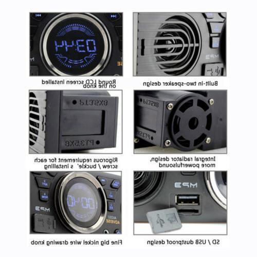 Car Audio Stereo Dash AM FM Input with USB Radio