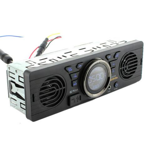 Car Stereo In Dash Input Receiver with SD USB MP3 Player