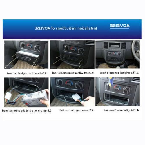 Car Audio Dash Aux Input Receiver USB Player