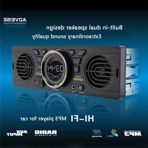 car audio stereo in dash am fm