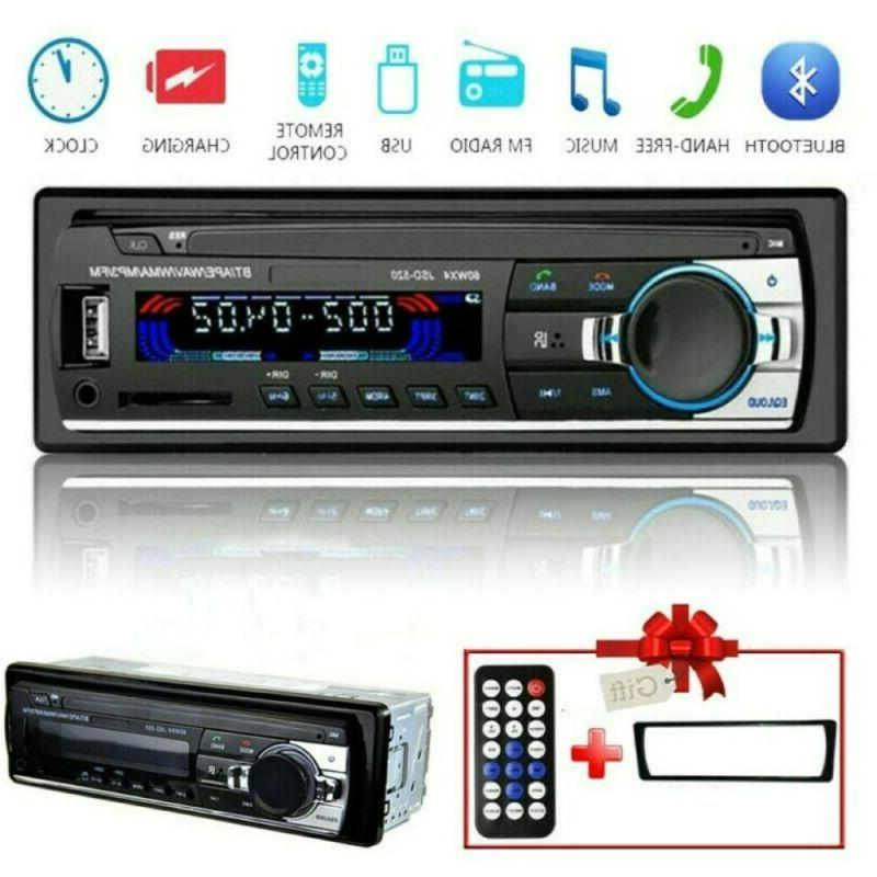 Car Bluetooth Stereo FM In SD/USB AUX Head Unit 1
