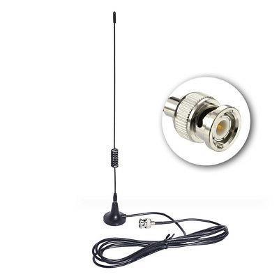 Car CB Mobile Radio Scanner BNC Magnetic Base Antenna for Un