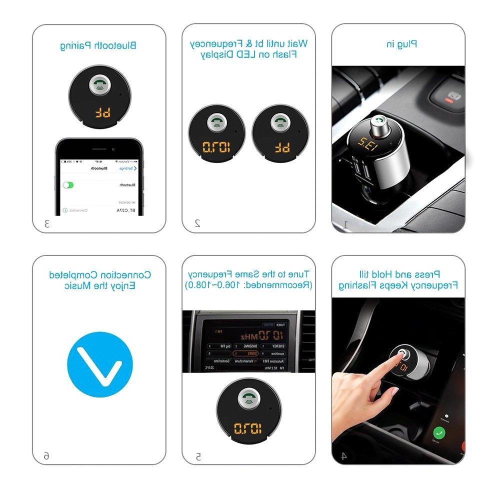 Car Transmitter MP3 Player