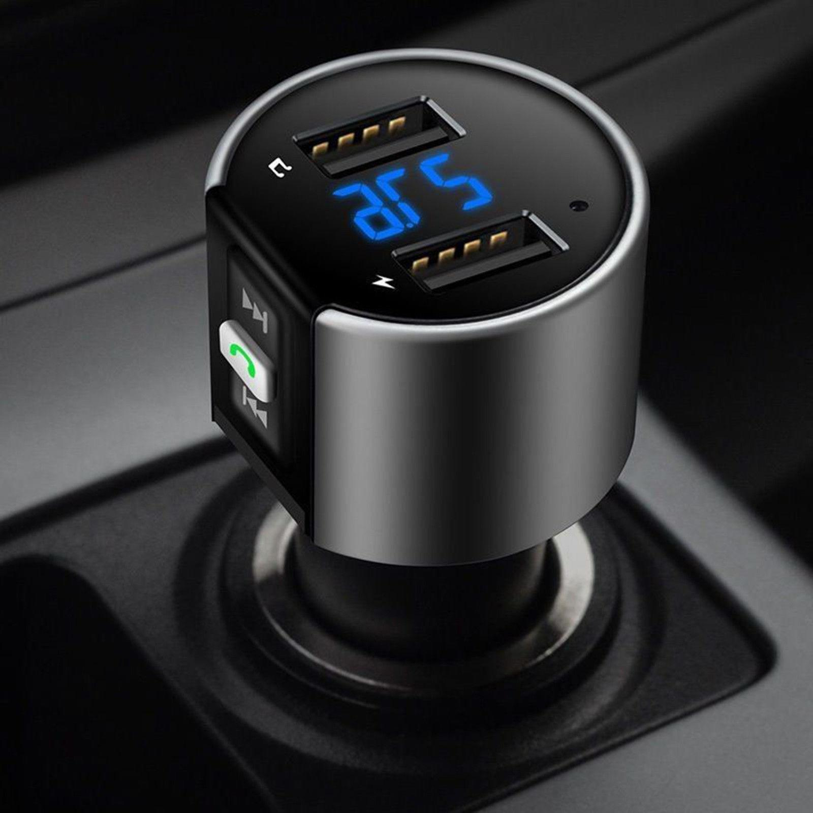 Car FM Transmitter MP3 Player Radio Charger