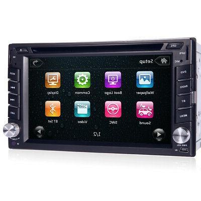 Car DVD In FM+Bluetooth+Radio Stereo+Camera