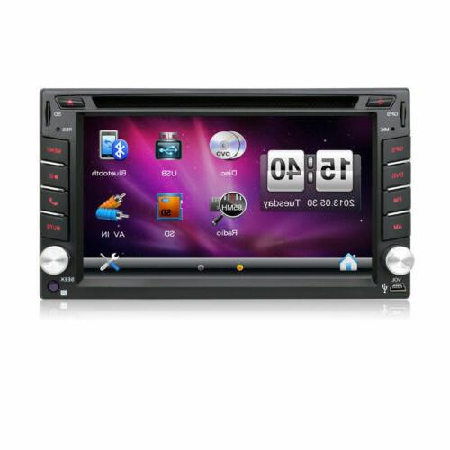 Car DVD Player 2DIN Car In Dash Auto Navi +Camera