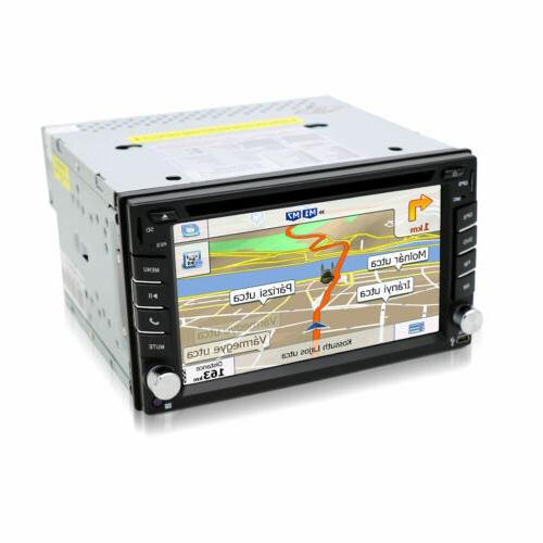 Car DVD Player 2DIN Car Stereo In Dash Navi