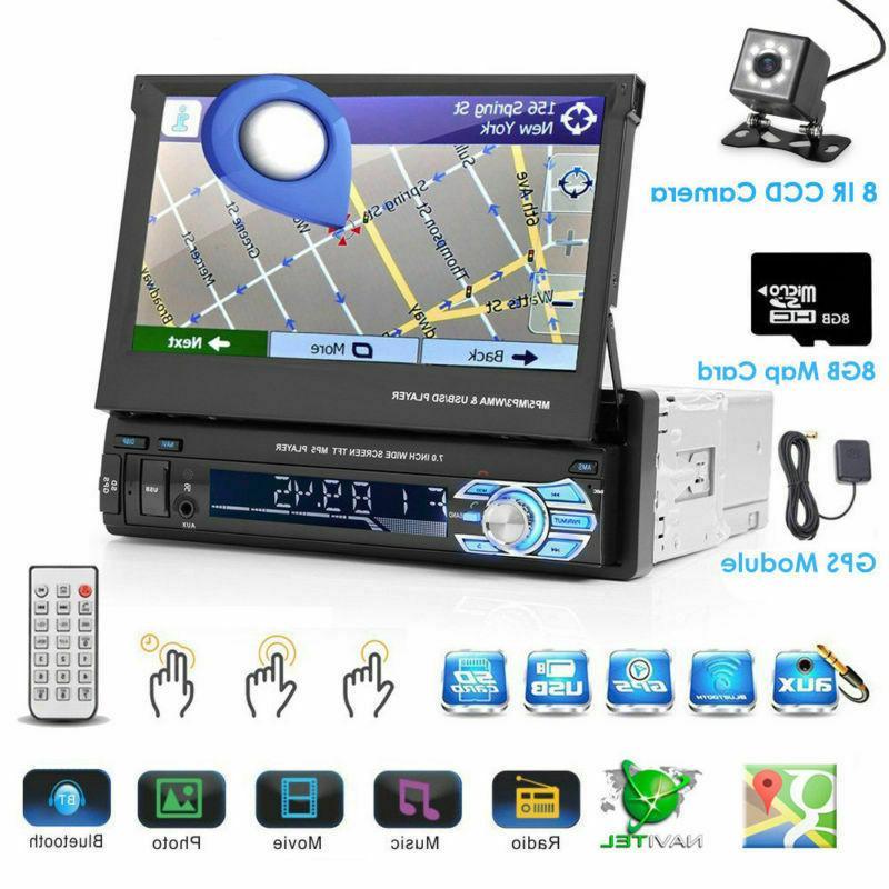 "Car Radio 7"" DIN Navi Player+Camera"