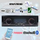 Car Radio MP3 with Bluetooth USB AUX in Audio Stereo support