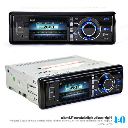 "Car CD Player USB AUX & 3"" Screen"