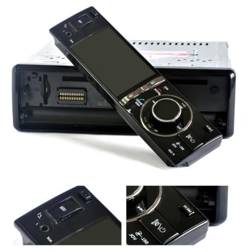 "Car Radio Bluetooth USB SD FM & 3"" Screen Monitor"