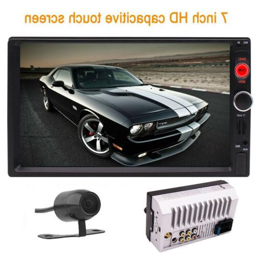 Car Radio Stereo GPS MP5 DVD player Double Din Bluetooth+camera