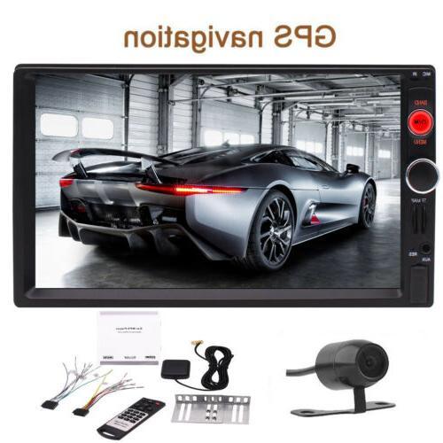 car radio stereo touchscreen gps mp3 mp5