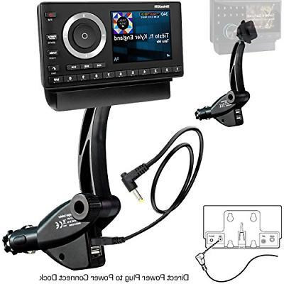car satellite radio receiver mounting kit sirius