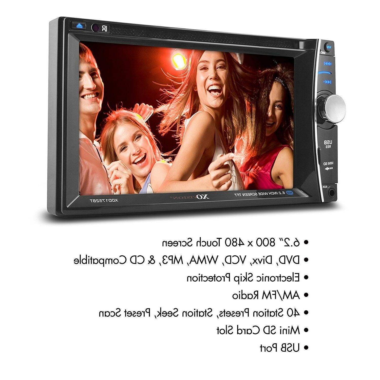 Car Stereo, XO 6.2 Bluetooth Multimedia Receiver MP3 Co