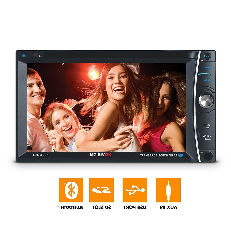 Car Vision 6.2 inch Wireless Bluetooth Multimedia DVD MP3 Co
