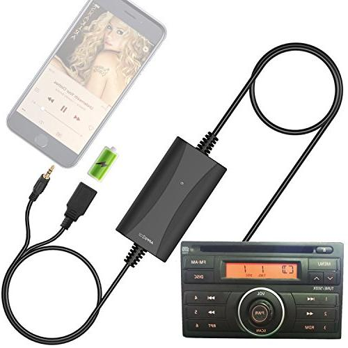 car stereo aux input adapter