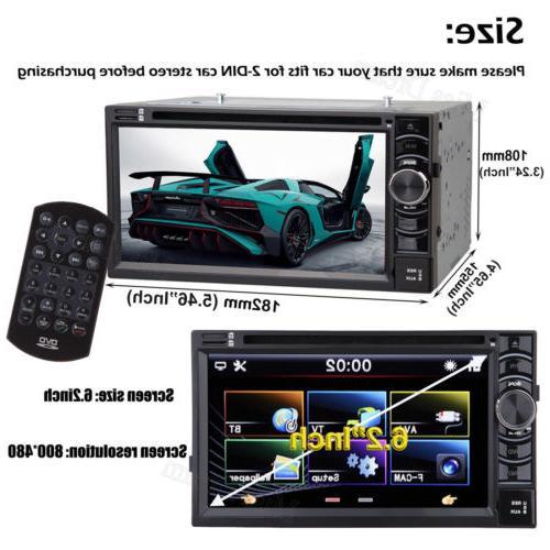 Car Bluetooth Radio Double Camera For
