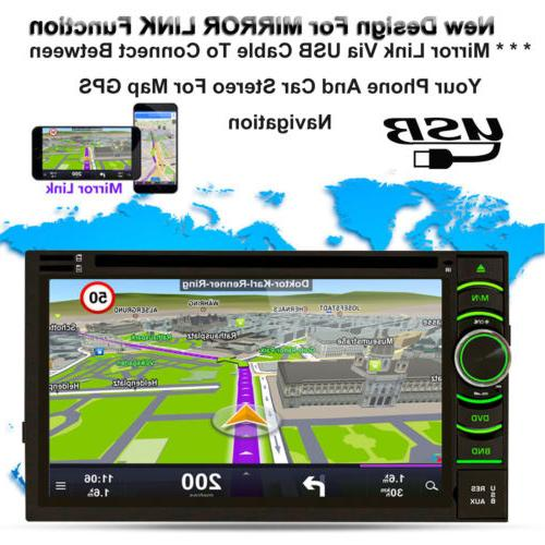 Car Double Camera For Mirror-Link-GPS